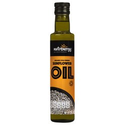 Organic Cold-Pressed Sunflower Seed Oil 250ml