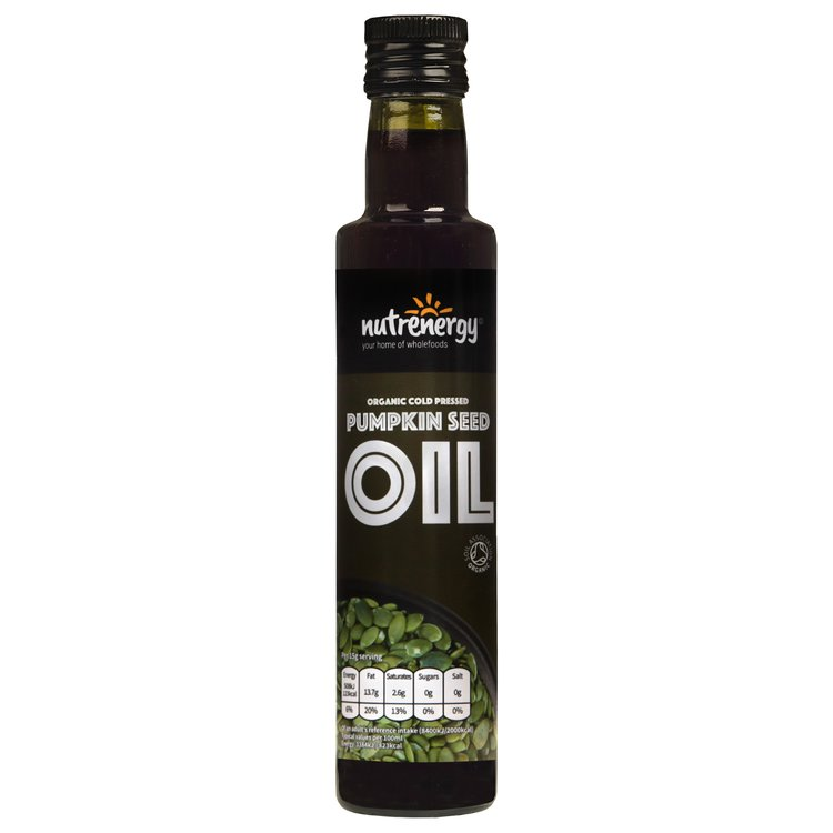 Organic Cold-Pressed Pumpkin Seed Oil 250ml