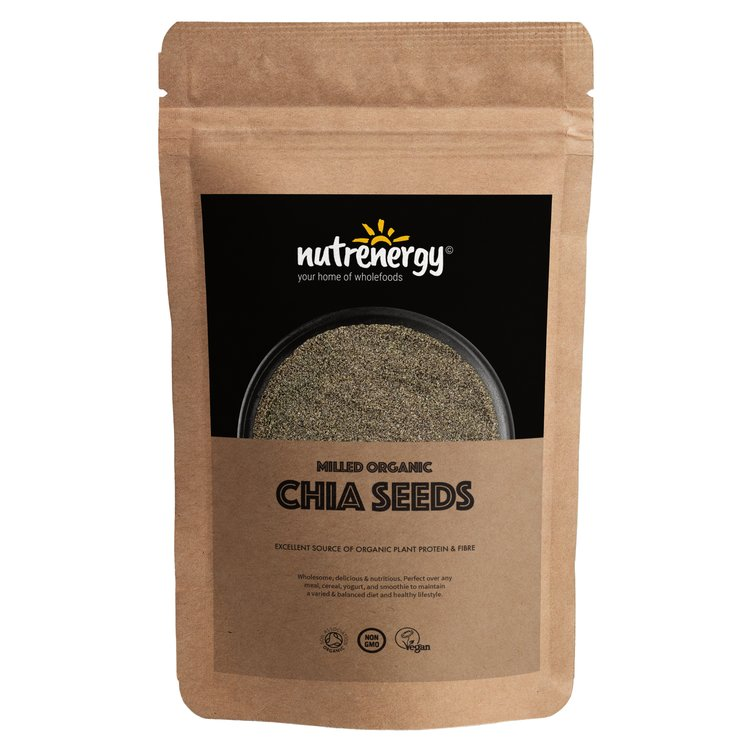500g Organic Milled Chia Seeds