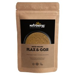 500g Organic Milled Flaxseed & Goji Berries
