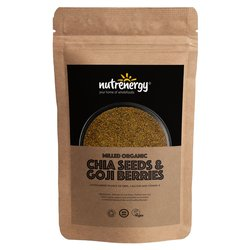 500g Organic Milled Chia Seeds & Goji Berries