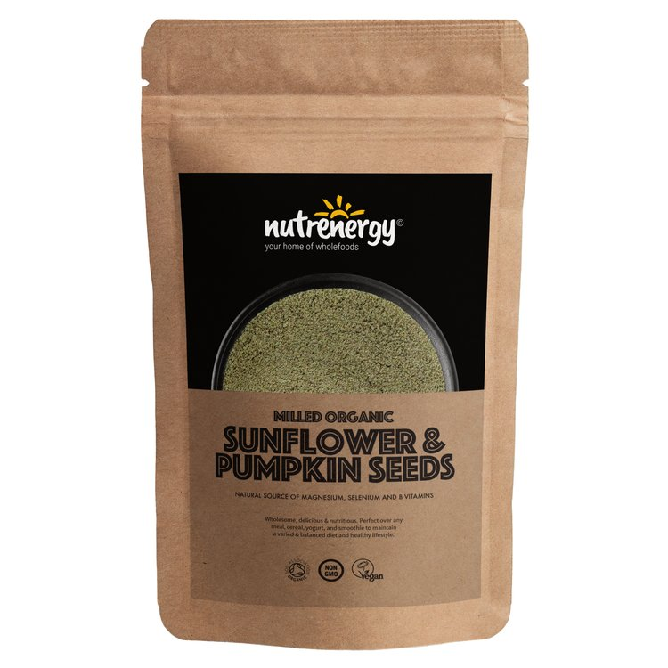 500g Organic Milled Sunflower & Pumpkin Seeds
