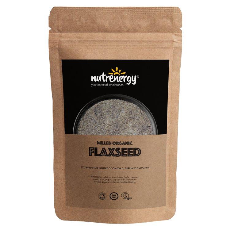 1kg Organic Milled Flaxseed