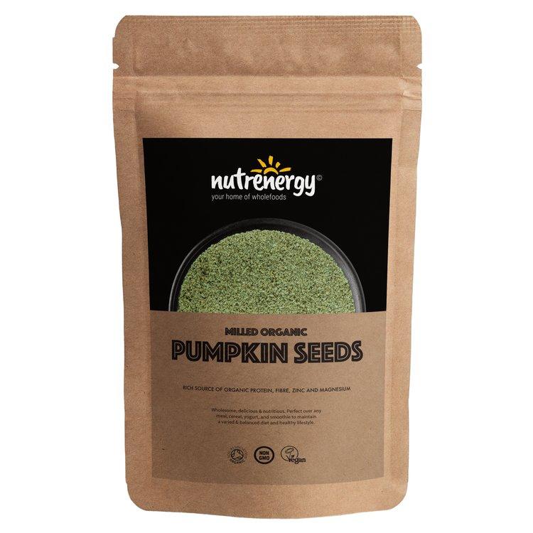 1kg Organic Milled Pumpkin Seeds