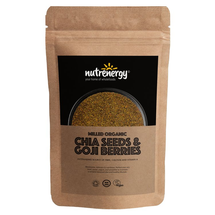 1kg Organic Milled Chia Seeds & Goji Berries