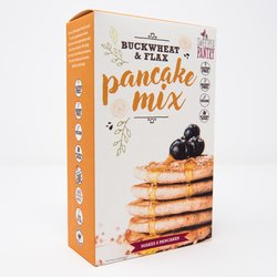 Pancake Baking Mix With Buckwheat & Flax 220g (Gluten Free)
