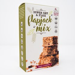 Flapjack Baking Mix with 'Super Oat' & Flax 230g (Gluten Free)