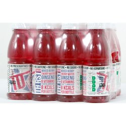 24 Bottles Caffeine-Free Energy Mixed Berry Water Drink with Ginseng (24 x 400ml)