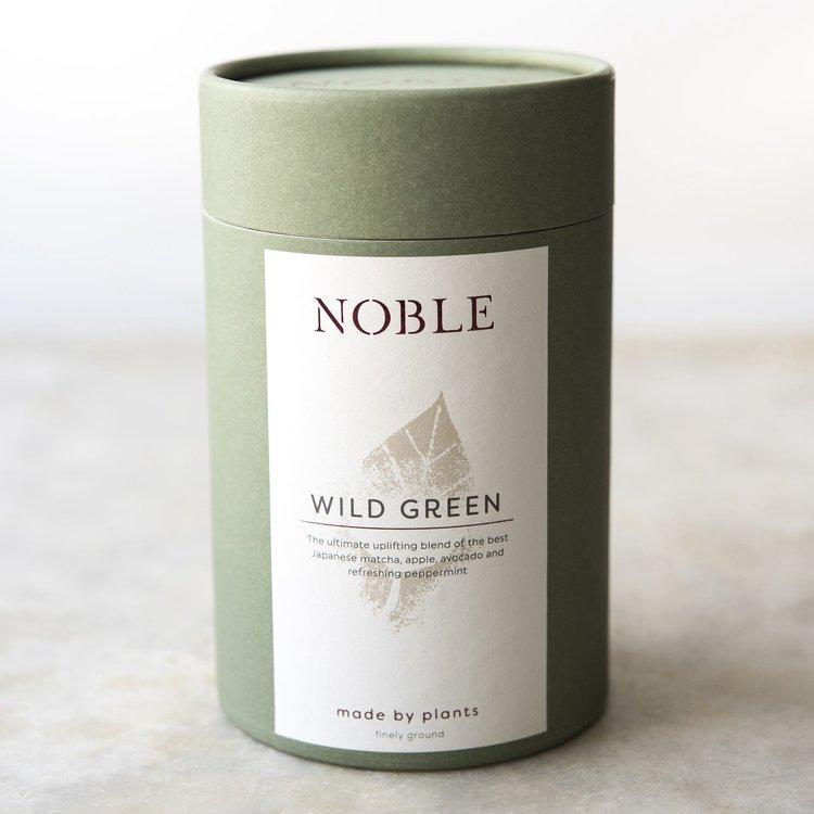 'Wild Green' Japanese Matcha, Apple, Avocado & Peppermint Organic Drink Blend 150g