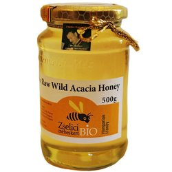 Raw Hungarian Organic Wild Acacia Honey 500g