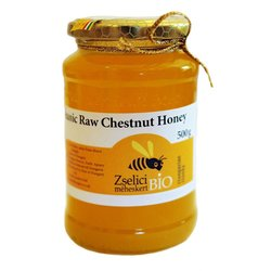 Raw Hungarian Organic Chestnut Honey 500g