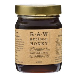 Raw Oak Honey - Greek Artisan Honey 450g
