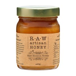 Raw Blossom Honey - Greek Artisan Honey 450g