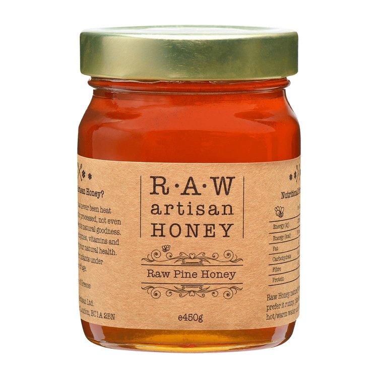 Raw Pine Honey - Greek Artisan Honey 450g