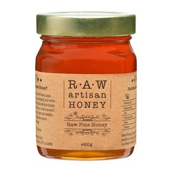 Raw Pine Honey - Greek Artisan Honey 450g