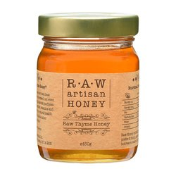 Raw Thyme Honey - Greek Artisan Honey 450g