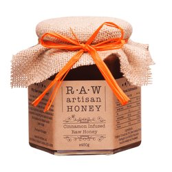 Cinnamon Infused Raw Acacia Honey 450g