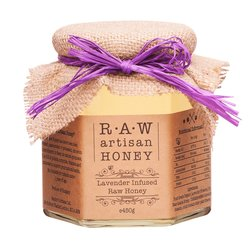 Lavender Infused Raw Acacia Honey 450g