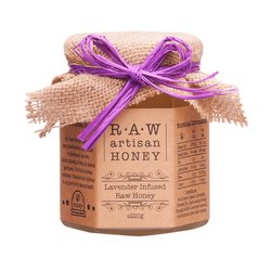 Lavender Infused Raw Acacia Honey 220g