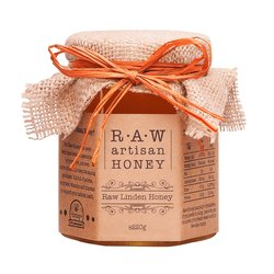 Raw Linden 'Lime Blossom' Honey 220g