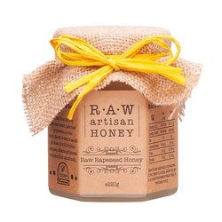 Raw Rapeseed Blossom Honey 220g