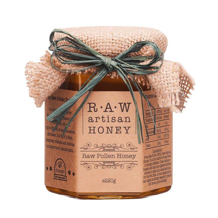 Raw Pollen Acacia Honey 220g