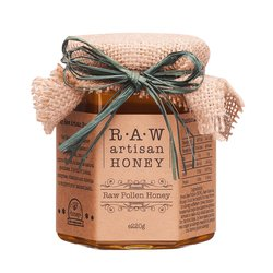Raw Pollen Acacia Honey 220g