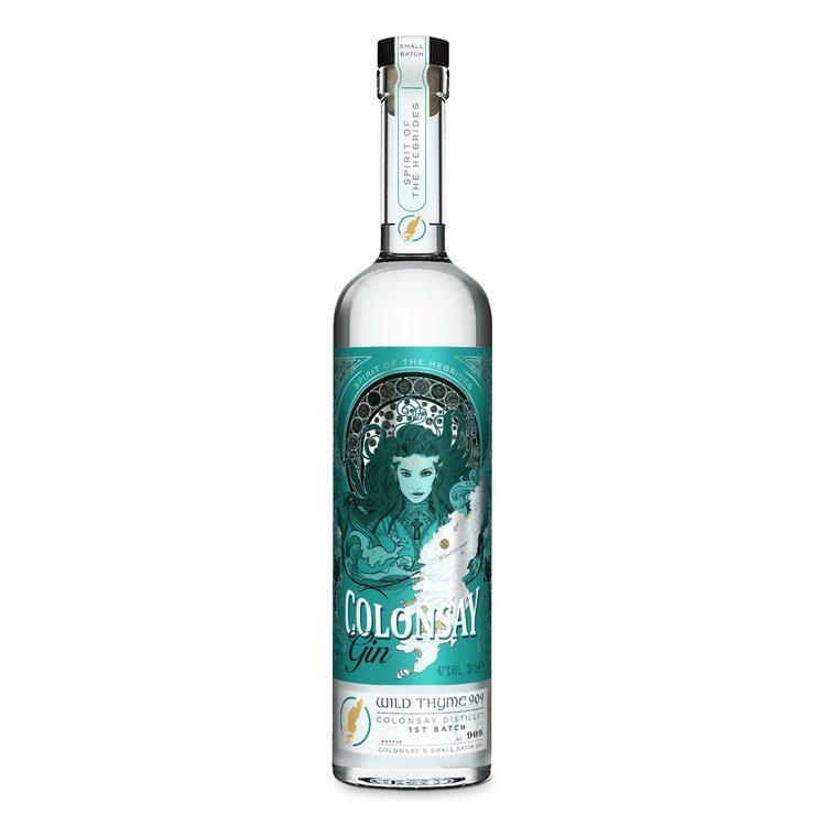 Limited Edition Wild Thyme 909 Colonsay Scottish Gin 50cl 47% ABV