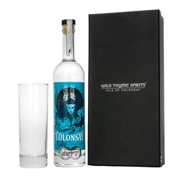 Small Batch Colonsay Scottish Gin Gift Box with Highball Glass
