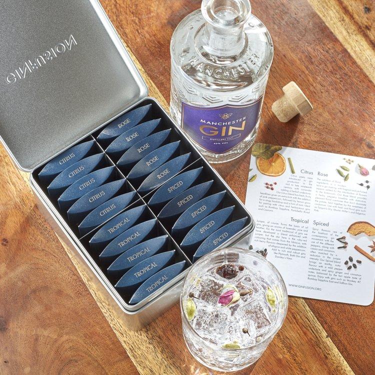 Gin botanicals gift set