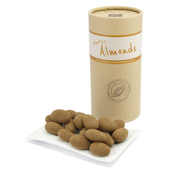 Winter Almonds in Milk Chocolate & Cinnamon 350g