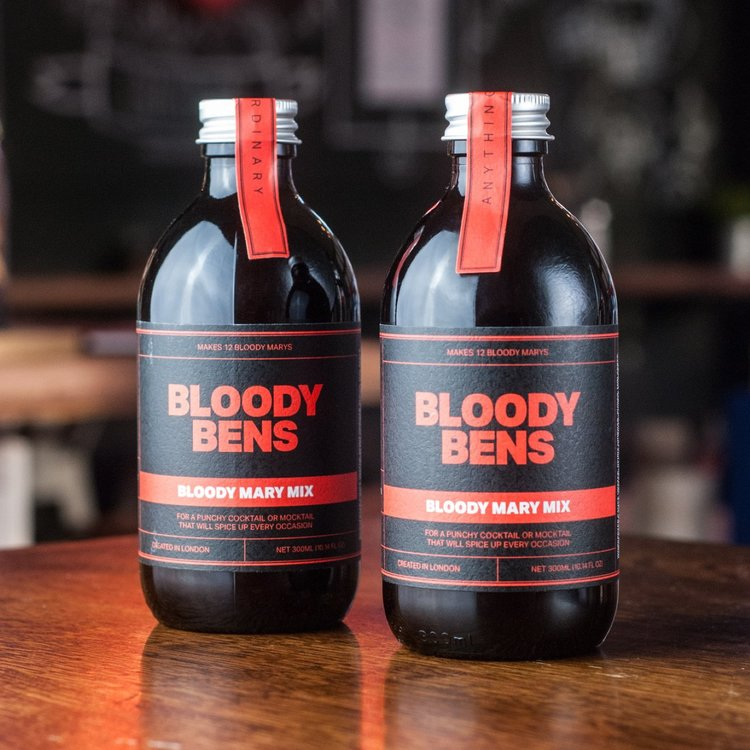 2 Bottles Bloody Mary Cocktail Mix 330ml