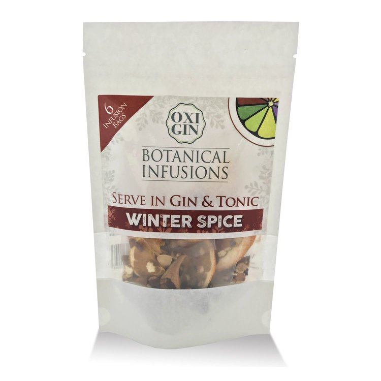 'Winter Spice' Botanical Infusion Bags for Gin & Tonic (6 Bags)