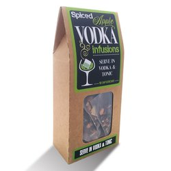 'Spiced Apple' Vodka Botanical Infusion Bags (10 Bags)