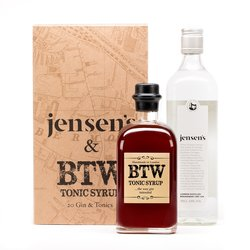 Gin and Tonic Gift Set with Jensens and Syrup