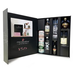 Pink Cocktail Gift Box (With Gin & Tonic, Vodka & Liqueurs)