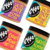Almond & Peanut Butter Bundle Inc. Nut Butters with Argan Oil & Salted Dates