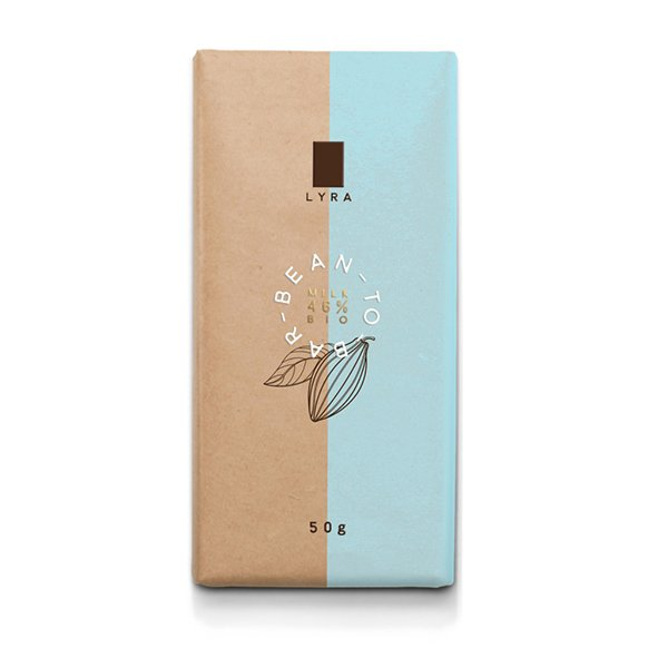 Bean To Bar 46 % Milk Chocolate 50g