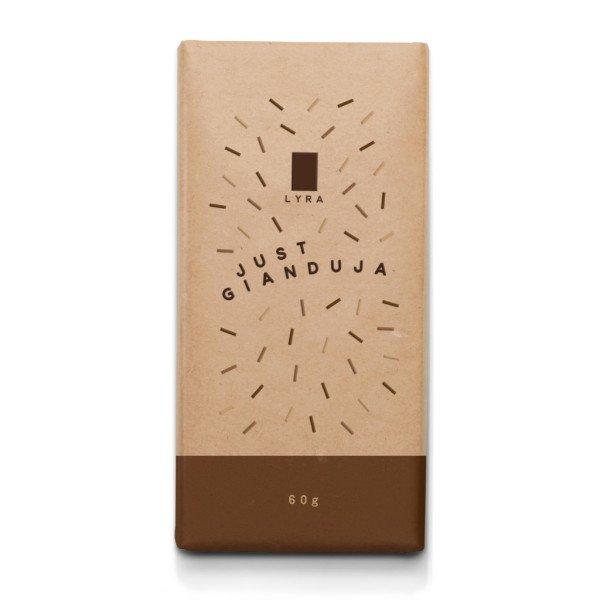 Just Gianduja Chocolate Bar 60g