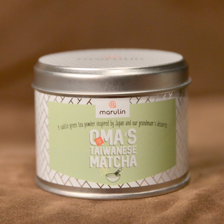 Oma's Taiwanese Powdered Matcha Green Tea in Tin 50g