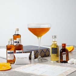 'Orange Blossom Sidecar' Cocktail Gift Set Inc. Cognac, Orange Liqueur & Blossom Syrup