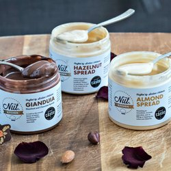 Luxury Nut Spreads Gift Box (Gianduia, Hazelnut & Almond Spreads) 3 x 200g