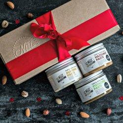 Home Baker's Nut Pastes Gift Box (Sicilian Pistachio Paste, Hazelnut Paste & Almond Paste) 3 x 150g