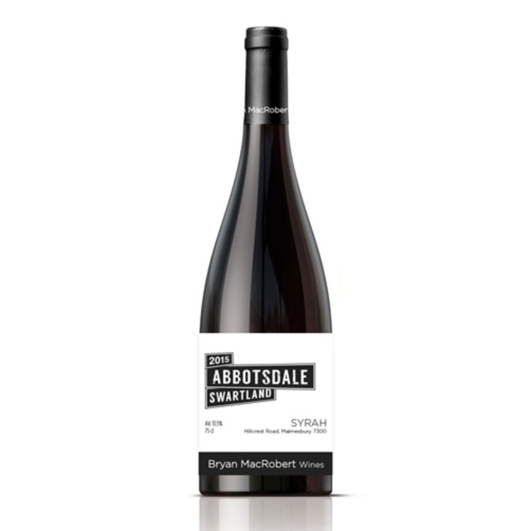 Syrah Abbotsdale Swartland South Africa Red Wine 75cl 13.5% ABV