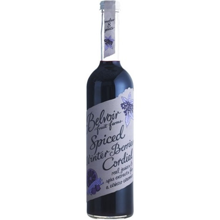 Spiced winter berries cordial