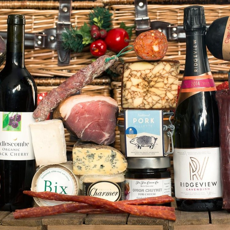 The Great British Luxury Cheese, Charcuterie, Wine & Craft Beer Gift Hamper