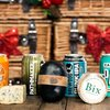 'Curd & Craft' British Cheese & Beer Gift Box Inc. Charcoal Cheddar & Craft Beers