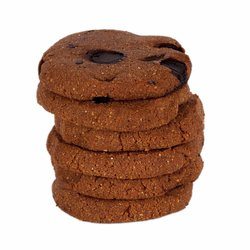 Organic Tigernut Cookies with Chocolate Chip, Carob & Ginger - 6 x 165g (Gluten-Free)