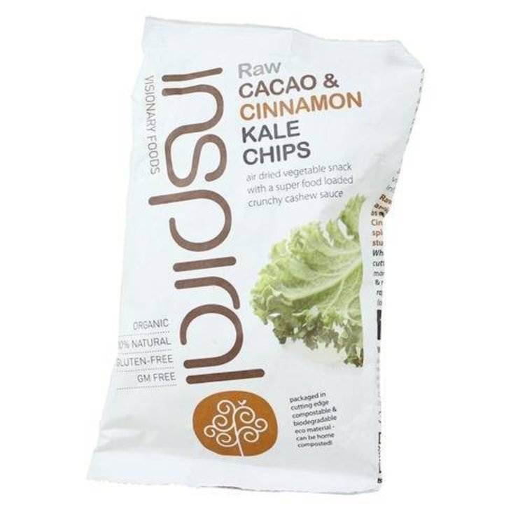 Inspiral raw cacao and cinnamon chips