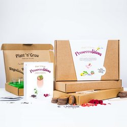 Grow Your Own Prosecco Botanical Cocktail & Garden 'Proseccolicious' Gift Kit with Infusions